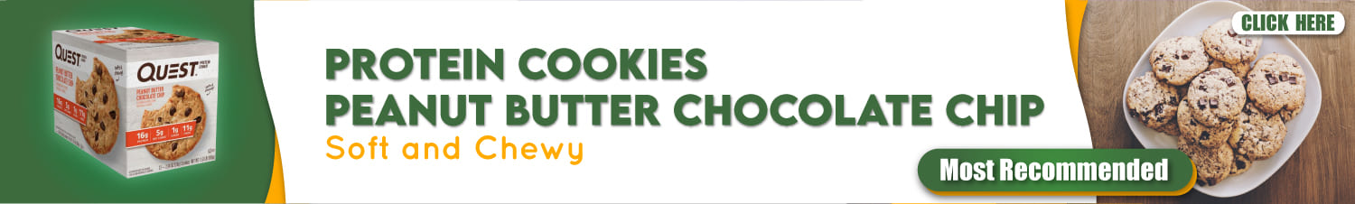 Protein cookies Peanut butter chocolate chip - Naturewoo.com